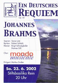 Ein deutsches Requiem 2002